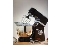 BRAND NEW MIXER WITH STAND BLACK/CHROME