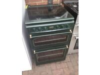 Green Gas cooker 55cm....Bargain mint Free delivery