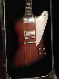 USA Gibson Firebird and fender amp package.