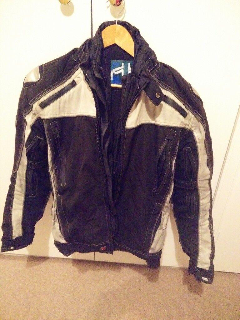 Frank Thomas XTI (M) all weather motorbike jacket plus Forcefield backplate insert BI-001 CE L2