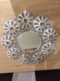 Stunning beaded mirror