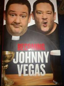 Signed - 'Becoming Johnny Vegas' book
