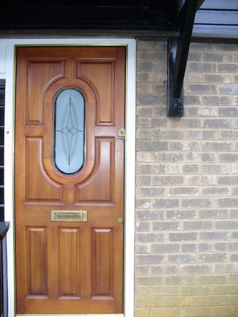 second hand wooden front door in northampton northamptonshire gumtree