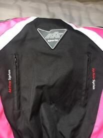 Size 14 woman's motorbike jacket for sale