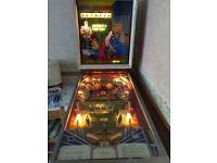 1978 Queens Castle Pinball Machine