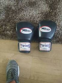 Twins 14oz muay thai/boxing gloves