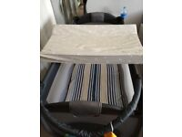 Over the cot baby changing mat