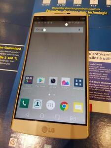 USED Unlocked LG V10 64GB LTE Dual SIM Beige with full box original accessories