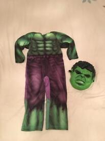 Kids Avengers Hulk Costume Fancy Dress