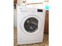 WASHING MACHINE BEKO 1500 SPIN 7 KILO 1 YEAR OLD FREE EDINBURGH DELIVERY AND CONNECTION