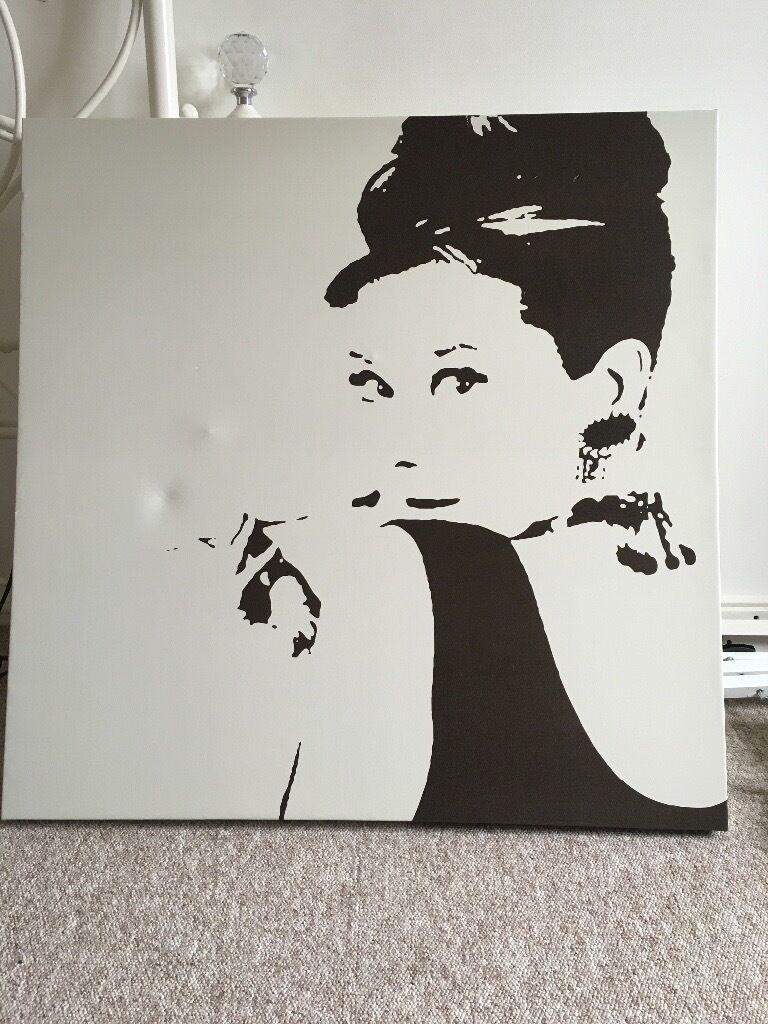 IKEA Audrey Hepburn Canvas | in Walton on Thames, Surrey | Gumtree