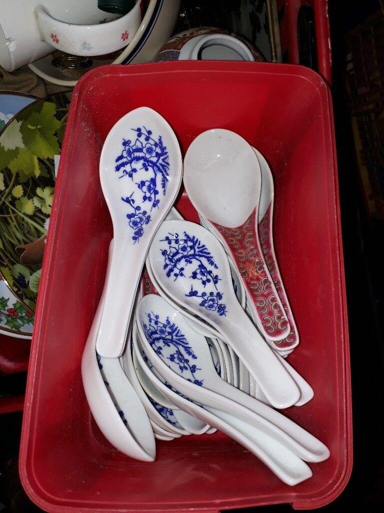 Soup spoons - Chinese Oriental