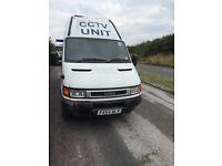 Iveco Daily 45C15 CCTV Security Van