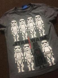 Boy Star Wars T-Shirt 5-6 Years