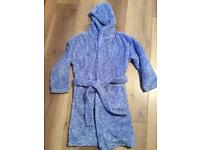 Blue dressing gown From Next Age 9yrs