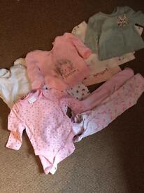 Up to a month old baby girl bundle