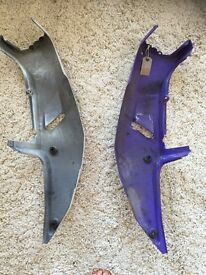 YZF750 seat panels (South Manchester) Free collection or just pay postage