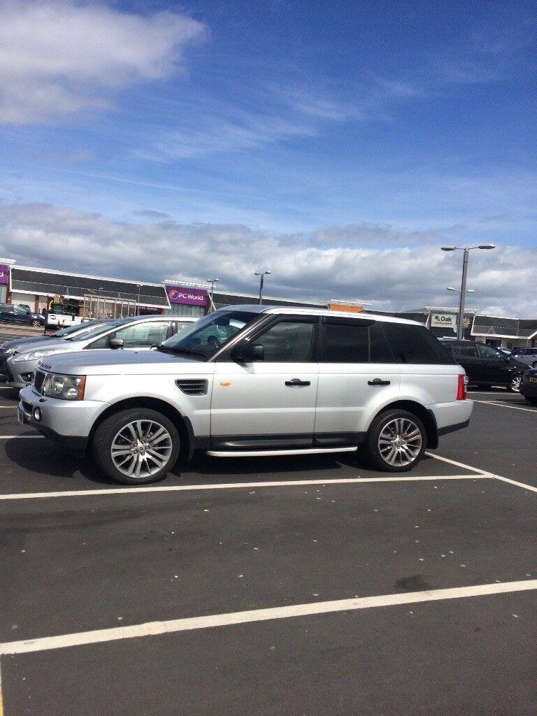 Range Rover sport tdv6 HSE MOT April 18