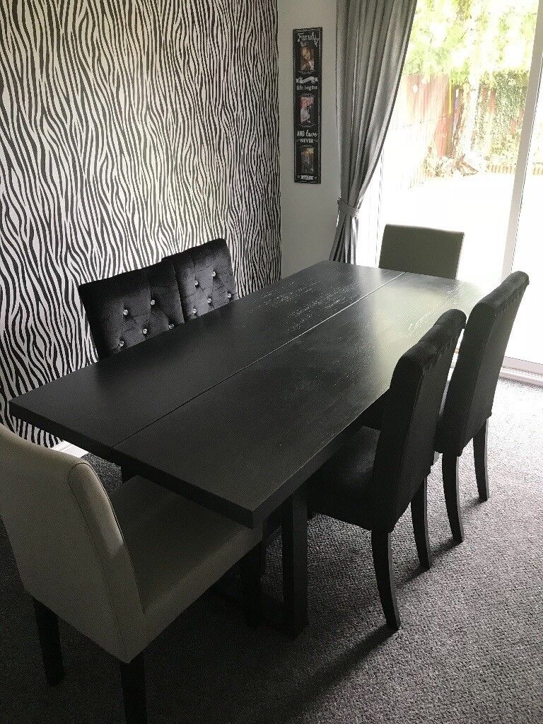 dining table and 6 chairs in kirk sandall south yorkshire gumtree