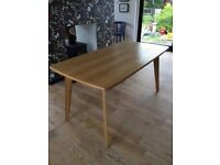 made com Fjord dining table in oak