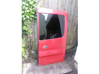 Vauxhall Vivaro/Nissan Primastar/Renault Trafic offside rear door red with tinted window