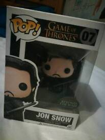 Beyond the wall Jon snow funko pop