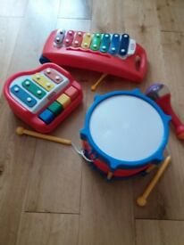 Little tikes baby band with xylophone