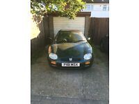 SOLD!!! MGF Race Car Green - Fixer Upper - negotiable price