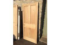 Door (Internal) 4 panel Pine 78 x 34 x 1.75 (Ref E)