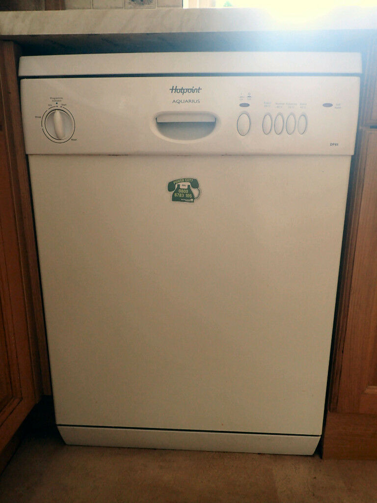 Hotpoint Aquarius 12 place dishwasher for sale, £45