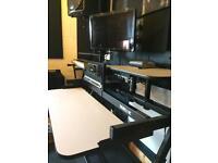 Quiklok Z-WS71L Complete Z Workstation, Studio Desk/Furniture, Home Studio, Production & Recording
