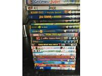 Kids DVDs x 20