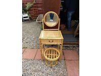 Cute dresser and stool