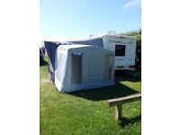 FOR SALE TOURING CARAVAN WITH MOTOR MOVER