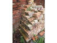 Victorian Red House Bricks. About 120, buyer to collect. Must go by May 30th £1.09 each