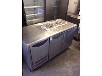 WILLIAMS COUNTER BENCH FRIDGE PIZZA FRIDGE SALAD PREP FRIDGE COUNTER WORKTOP FRIDGE TAKEAWAY SHOP