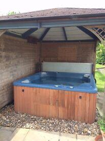 Wooden Gazebo, Hot tub shelter