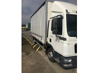 MAN 7.5 tonne truck for sale curtainsider