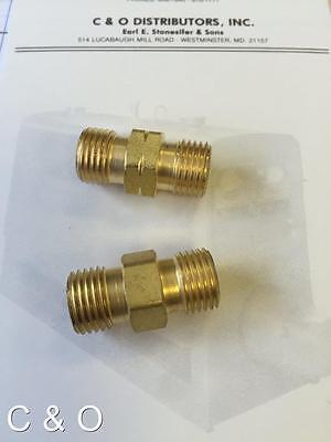 Twin Torch Hose Coupler Set - B Size - Oxygen Acetylene Propane - Join 2 Hoses