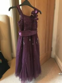 Next Girls Party Dress- Age 6