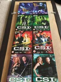 CSI Seasons 1-5 DVD