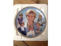 Princess Diana Memorial Plate