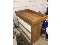 Mama and papas baby dresser and drawers