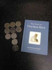 Small Beatrix Potter book (no coins included - for coins see my other adverts).