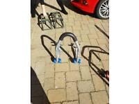 Rear motorbike stand