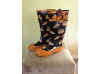 New Ladies Volkswagen print Wellington boots
