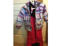 2 Girls Snowboard jacket and salopettes