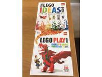 2x Lego creation books