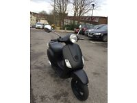 Matt Black - 2005 Vespa Lx 50cc - £599