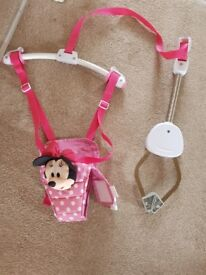 Minnie mouse baby door swing